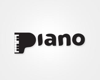 精选国外以钢琴为设计元素的标志设计欣赏 - 设