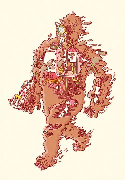 精选国外插画大师创意的插画设计欣赏(2)