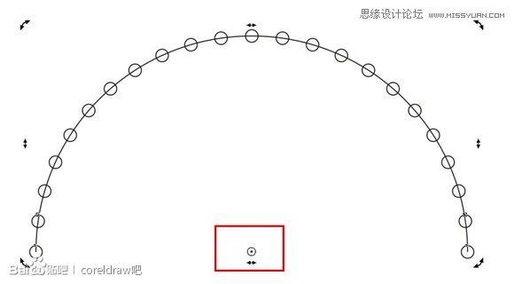 CorelDraw制作漂亮圆点螺旋状效果