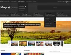 20套高质量的免费网页模版PSD素材