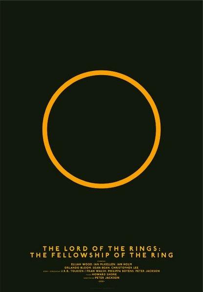 以电影为题材的极简海报设计欣赏