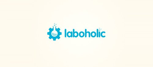 flask)logo设计,这些是比较符合科学研究,生物化学,实验室类型的行业