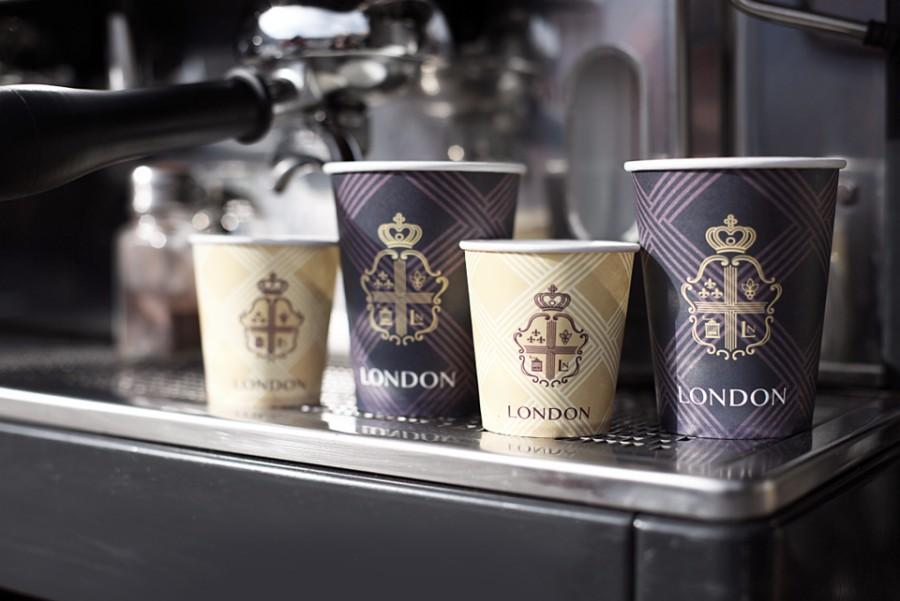 基辅伦敦咖啡馆品牌vi设计欣赏,ps教程,思缘教程网