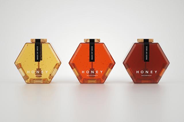 精选国外蜂蜜产品包装设计欣赏