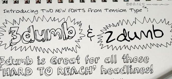 30个免费的手写艺术英文字体下载