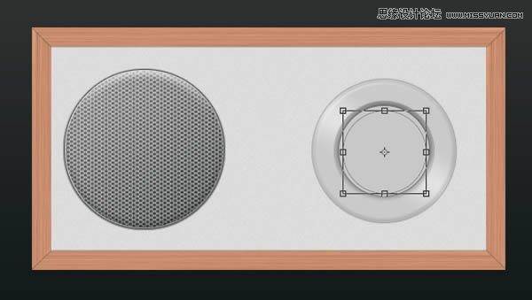 Photoshop转载金属家装的收音机质感-绘制教界面设计师工作总结及工作计划图片