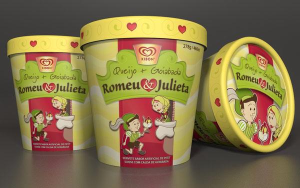 精选国外时尚大气的冰淇淋包装欣赏图片