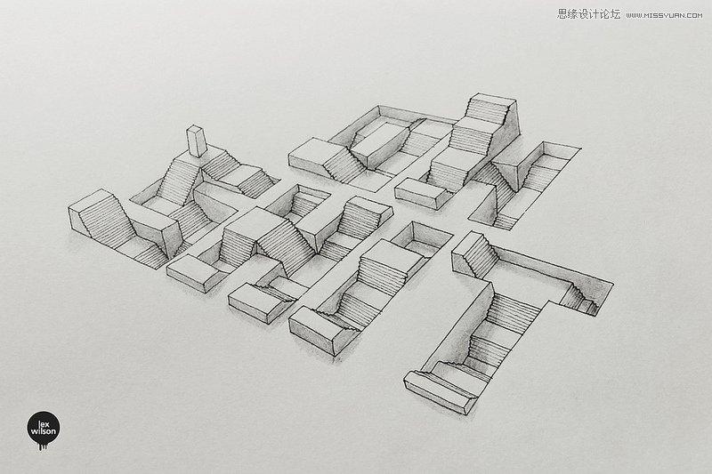 国外创新的手绘立体图案设计欣赏