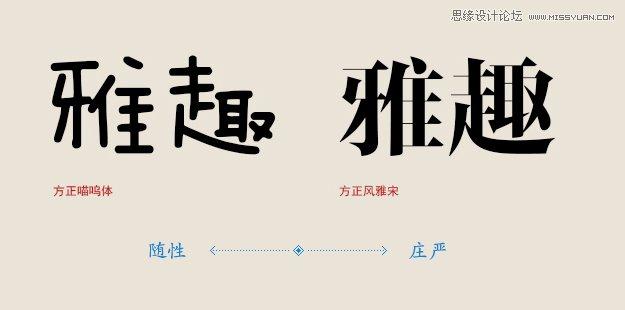 中文字体排版;