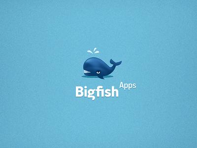 以鲸鱼为设计元素的logo设计欣赏