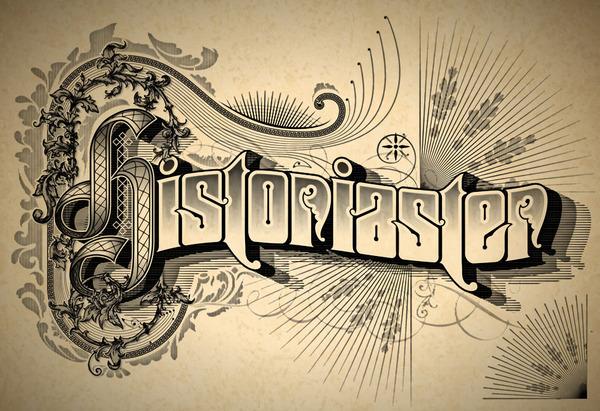 精选国外复古风格的字体海报设计欣赏