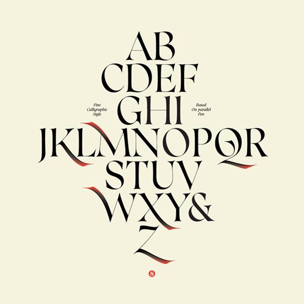 精选国外创意的英文字体设计欣赏