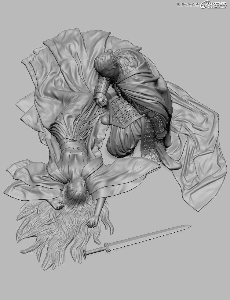 3d立体素描画教程图解