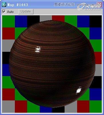 最后的木纹材质球效果如图24所示