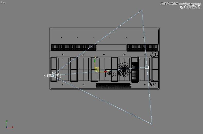 【技巧】3dsmax制作接待厅阳光表现实例教程-第2张图片-赵波设计师_云南昆明室内设计师_黑色四叶草博客
