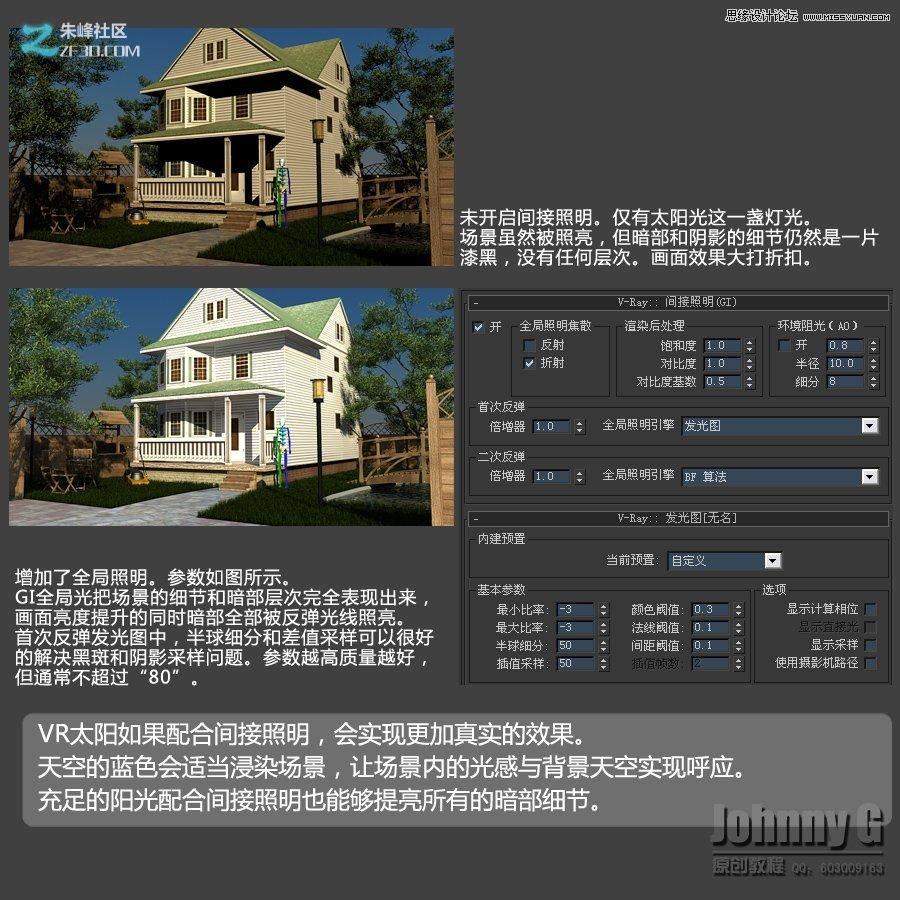 临沂室内设计培训中心 3dmax打造欧式小别墅效果图教程