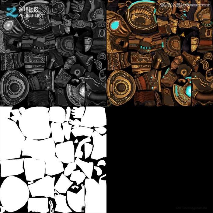 MAMY绘制游戏中的魔法机器人实例,PS教程,思缘教程网