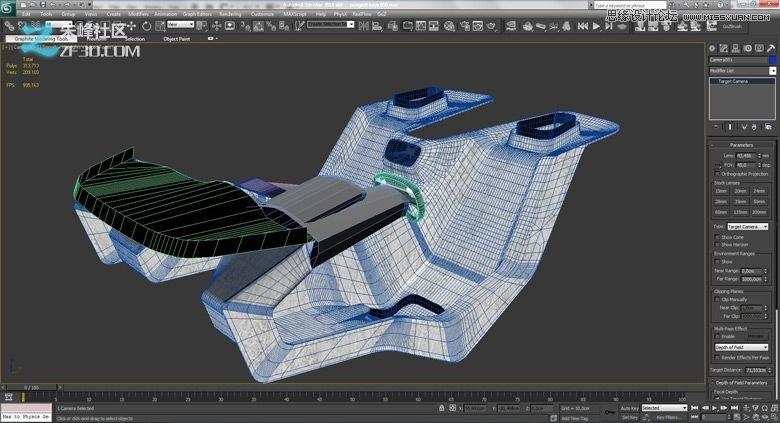 3dmax集合vray制作标致时尚的汽车模型(3)