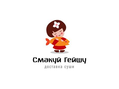 国外鱼logo设计
