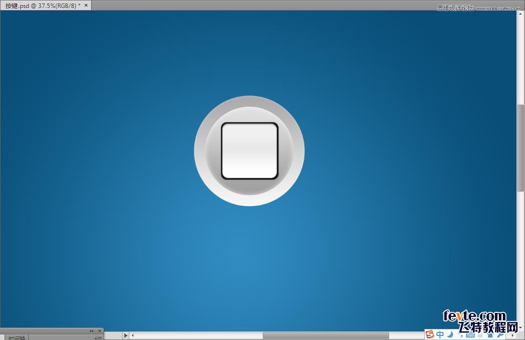 阴影蓝色边框素材