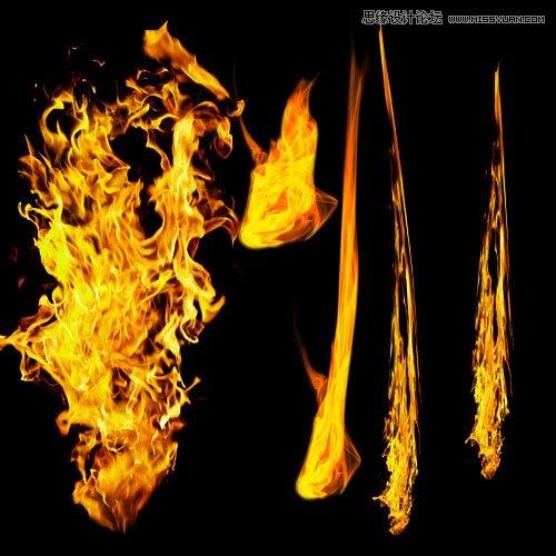Photoshop設計創意時尚的火焰人像效果