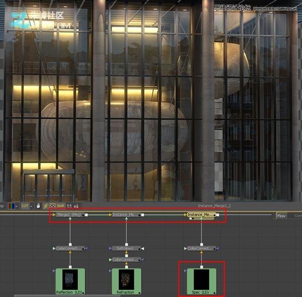建筑物效果图(4)