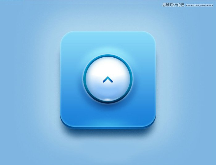 photoshopv专业专业职业立体app教程_ps实用素养模具设计蓝色的图标效果图片