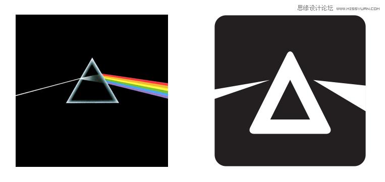 设计著名音乐软件spotify里的图标