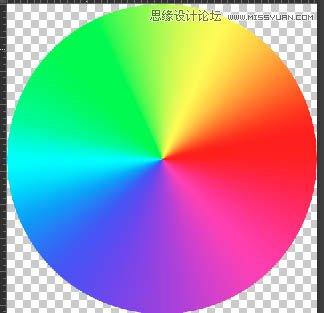 上一层这样的彩虹渐变(颜色可以根据效果