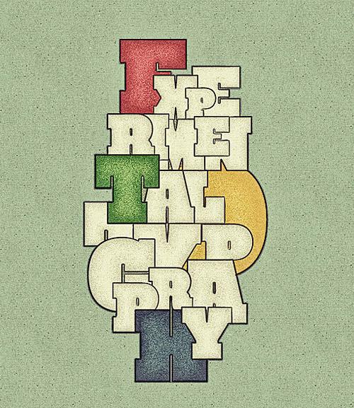 27個國外創意手寫海報字體設計欣賞