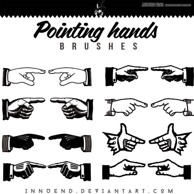 flash 手指指向素材_表情大全图片