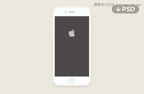 精选国外iphone6 psd设备模型素材集合