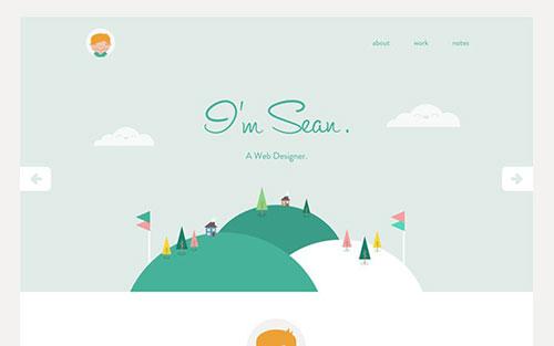 6款布局独特的网站首页概念设计欣赏