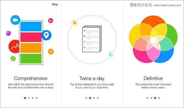 精選效果顯著的網站引導頁設計案例