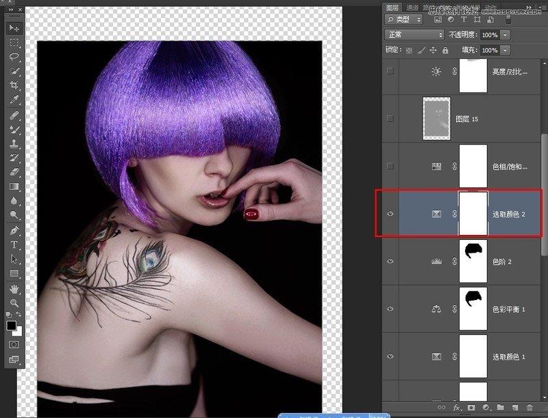 photoshop调出欧美人像模特质感肤色效果_ps实用教程