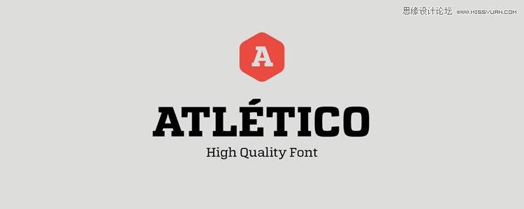 20款设计标题上经常使用的英文字体下载图片