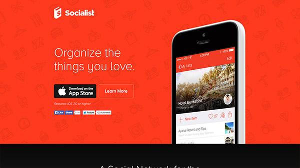 35款热烈奔放的红色色调网站设计欣赏,PS教程,思缘教程网