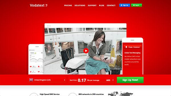 35款熱烈奔放的紅色色調網站設計欣賞
