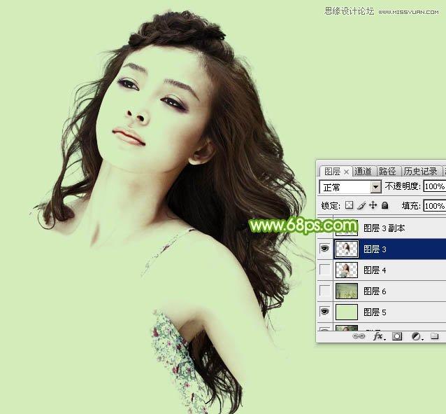 Photoshop巧用通道抠出人像头发丝教程 - 今日延安 - 今日延安影视音画博客