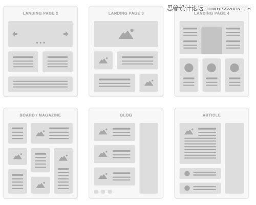 国外优秀网站流程图ui组件包免费下载