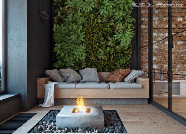 精選國外溫暖的紅磚墻裝修設計欣賞