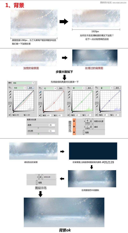 Photoshop設計淘寶護膚品冬季全屏促銷海報