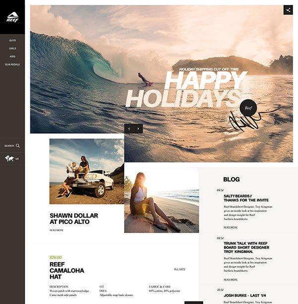 精选国外布局好看的网页设计欣赏