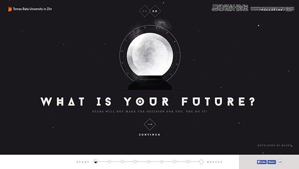 25款巧用字体排版风格的优秀网页设计欣赏