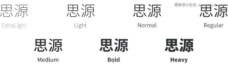 詳細解析設計師如何用好電腦自帶的字體