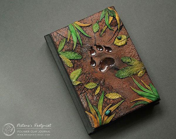 手工制作的童话书籍封面作品设计欣赏