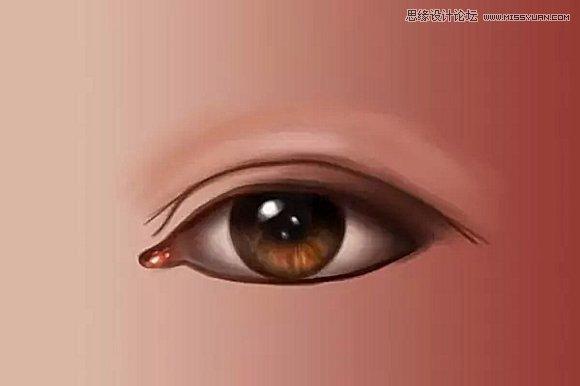Photoshop繪製超逼真的人像眼睛效果