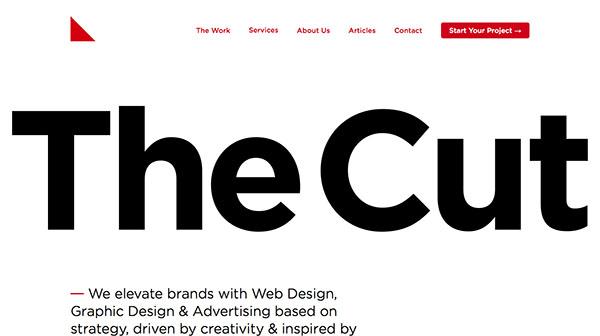 国外气势磅礴的英雄级字体网站欣赏,PS教程,思缘教程网