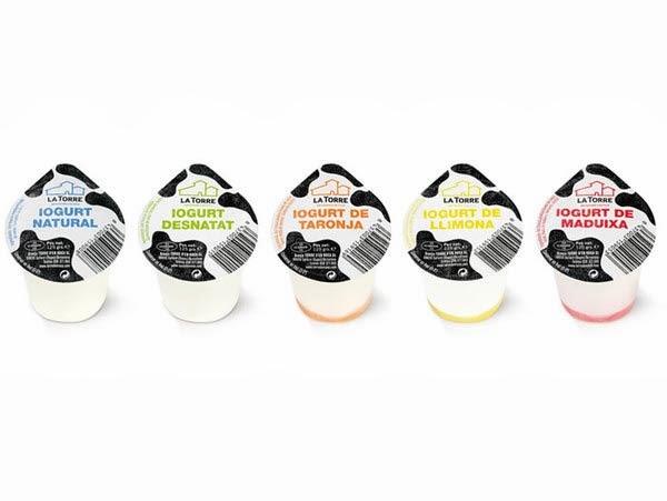 50款国外时尚的酸奶产品包装设计欣赏
