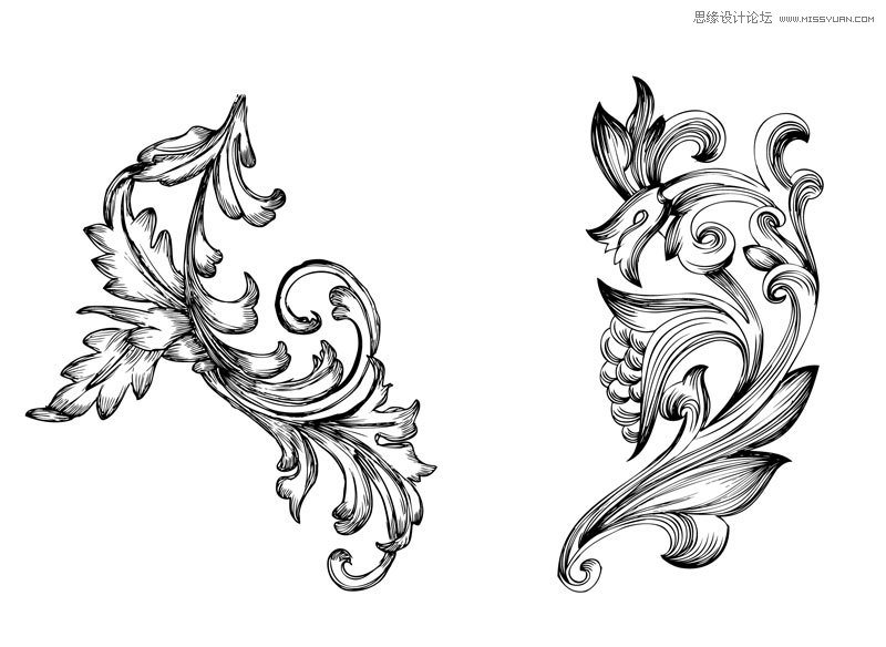 [ PSブラシ ]レトロな装飾が施された PS のブラシ